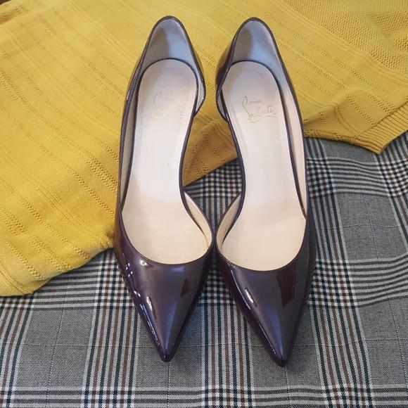 big sale ec786 61162 Christian Louboutin Decollete 70 heels